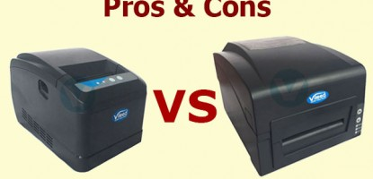 What Types of Barcode Label Printer Should I Choose: Direct Thermal or Thermal Transfer
