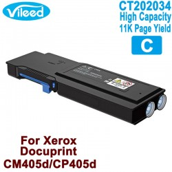 High Capacity Toner for Xerox DocuPrint CP405, CM405 - Compatible Color Cartridge CT202033 BK CT202034 C CT202035 M CT202036 Y