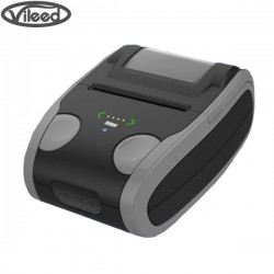 58mm Mini Pocket-Size Bluetooth Barcode Label Mobile Printer, Direct Thermal, Powered by Built-In Lithium Battery